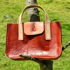 My Leather Work.....  Real leather. Hand crafted, hand stitched. Micro tote...