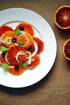 Kuchnia Bazylii: Sycylijskie pomarańcze - sałatka