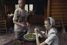 italian vogue 2008.  I wanted to be Amish when I was a kid- for a while after we drove through Amish country in Pennsylvania when I was eight.