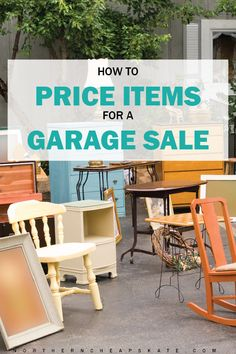 How to Price Items for a Garage Sale | Garage Sale Pricing | Garage Sale Tips | Garage Sale Organization | Garage Sale Ideas | Hacks to Make Extra Money Rummage Sale, Pricing For Garage Sale, Garage Sale Tips, Sales Tips, Shopping Hacks, Yard Sales, Sell Your Stuff, Things To Sell, Garage Sale Organization