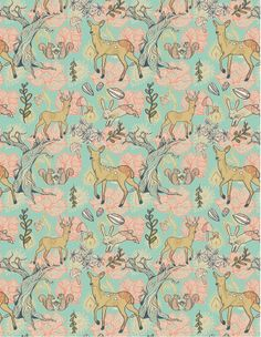 Patterns by Ali Thomas, via Behance