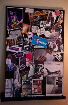 How to Make a Vision Board Goal Board, Creating A Vision Board, N21, Fun Activities, Dream Boards, Vision Board Ideas Diy, Crafts, Goals, Mood