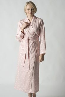 011a892a7c Printed Pure Cotton Wrap Around Dressing Gown - NOW XS ONLY - 50% OFF from  www.pinkcamellia.com