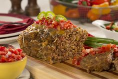 """Is there a """"secret ingredient"""" in your favorite meatloaf recipe? There is in ours! Our Secret Ingredient Meatloaf calls for one shortcut ingredient that doesn't just make life easier, but it makes the meatloaf so moist and flavorful, too! Aren't you"""