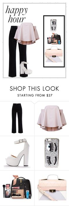 """Night Out Style"" by marionafeer ❤ liked on Polyvore featuring M.i.h Jeans, Milly, Chiara Ferragni and Dorothy Perkins"