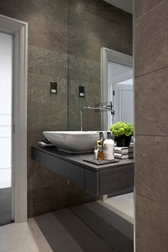 The Hampstead Apartment contemporary-bathroom