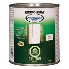 Shop Rust-Oleum  946ml White Specialty Appliance Epoxy at Lowe's Canada. Find our selection of specialty interior paints at the lowest price guaranteed with price match + 10% off.