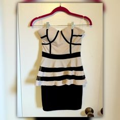 🍉Cute peplum mini dress from J trendy🍉 Size Small, cute and sexy, in a very good condition. J trendy Dresses Mini