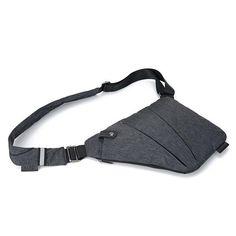 Crossbody Bags Hospitable New Men Canvas Messenger Shoulder Bag Single Back Pack Half Moon Travel Assault Cross Body Bags Sling Chest Day Pack Fancy Colours