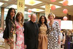 Delbarton Mothers' Guild's annual Fashion Show (lovely Asian theme: 'Sakura') was a major hit in April 2012.