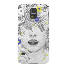 Flower Child Galaxy S5 Cover