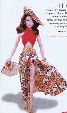 THE GENE DOLL BOOK SPRING SUMMER 1998 PRICE SUIT COSTUME ACCESSORY REFERENCE | eBay barbi board, gene doll, vintag barbi, darl doll, doll rdoth, barbi girl, beauti doll, fashion doll, gene marshal