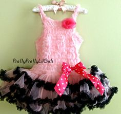 Petti Dress Girls Dress Tutu Dress Little by PrettyPrettyLilGirls, $19.99