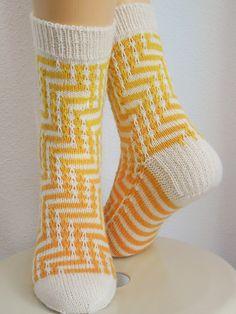 Ravelry: Staigri Socks pattern by KnitJoyz - Home & DIY Crochet Socks, Knitting Socks, Crochet Stitches, Hand Knitting, Knitting Patterns, Knit Socks, Mitten Gloves, Mittens, Cute Slippers
