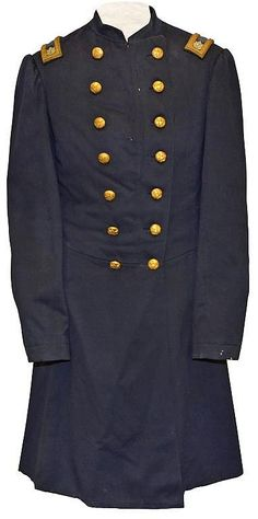 """This exceptional Lieutenant Colonel's frock coat of unprecedented historical significance is from one of the premiere collections of Rhode Island related militaria. It is the uniform coat of Lt. Col. Elisha Hunt Rhodes who had his wartime diaries so often quoted in the PBS Ken Burns Series """"The Civil War"""". Rhodes enlisted in the 2nd Rhode Island Volunteer Infantry June 6th, 1861. This unit fired the first volley at the opening of the Civil War during the battle of Bull Run. The Colonel of…"""