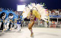 FOTOS: 2ª noite de desfiles do Grupo Especial de São Paulo - fotos em Carnaval 2013 em São Paulo - g1