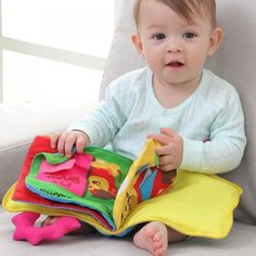 Exquisite Intelligence Growth Baby Kids Boys Girls Toys Popular Cloth Book HS