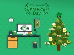 We are ready for St. Patrick's #dynamik #stpatricksday #leprechaun #chile