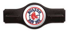 MLB - Boston Red Sox 6 Cue Wall Rack with Mirror