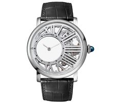 Rotonde de Cartier Mysterious Hour Skeleton