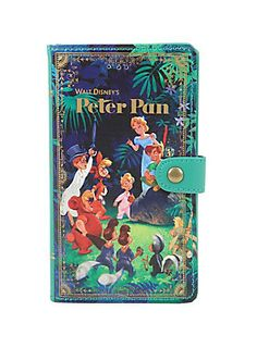 <p>Decorate your iPhone 6 Plus or 6S Plus with this whimsical <i>Peter Pan</i> wallet cell case. It's designed like a unique vintage book, features card pockets, an easy-access camera hole, snap-in design and an edge-to-edge access to your touch screen.</p><ul><li>Fits iPhone 6 Plus/6S Plus</li><li>Imported</li></ul>