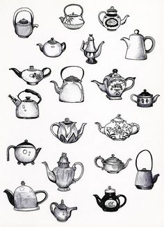 Tea pot tattoo inspiration