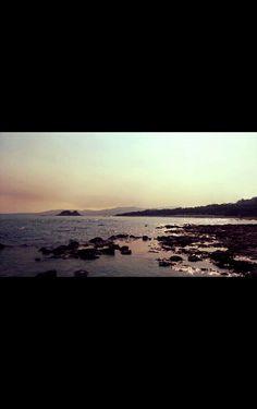 Faliraki Beach, Rhodos. August 2013.