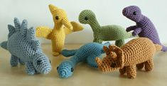 PlanetJune by June Gilbank is one of my favourite sites for Amigurumi patterns. I made all Oliver's dinosaurs from patterns on this site.