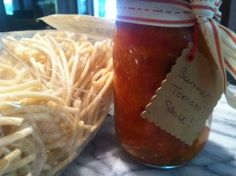 Summer Tomato Sauce — a great gift!