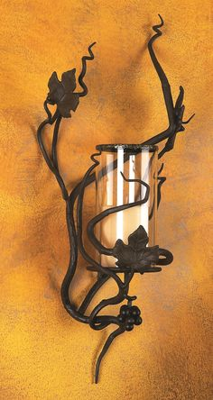 Vineyard Hurricane Sconce by Bella Toscana $117.95
