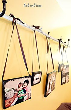 birdandtree: DIY: Photo Canvas Wall Art