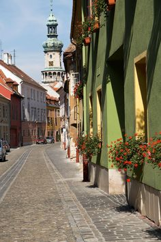 Sopron, Hungary Places Ive Been, Places To Visit, Heart Of Europe, Exotic Places, Central Europe, Historical Architecture, Beautiful Architecture, Eastern Europe, Beautiful Places