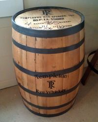 Future bar needs a home. Rye Whiskey, Whiskey Barrels, Templeton Rye, Barrel Furniture, Iowa, Drink, Future, Design, Decor