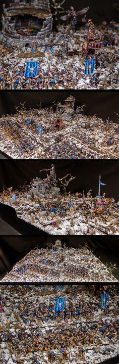 Wilhelm's company - Empire army on display board