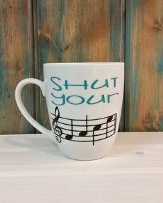 Music coffee mug funny coffee mug unique by TravelingTreeDesign