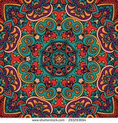 Islamic Art Pattern, Pattern Art, Mandala Design, Mandala Art, Abstract Art Images, Paisley Art, Ancient Egyptian Art, Printing On Fabric, Art Drawings