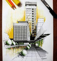 Proyecto de @m.ansari.architect - #arquitumundo #arquitecturamundodiferente •…