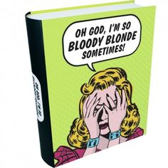 /'/'Oh God I/'m so Bloody Blonde/'/' Coin Purse Retro Humour Range Ideal Gift