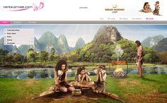 ¿Os imáginais como sería una barbacoa prehistórica? ¡El Grillus camp os lo enseña!  #venteprivee #vpsummercamp #webdesign