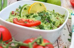 Well, I am here to say that is this the best one you'll ever have. Chunky, spicy and bright...this guacamole recipes goes best with cold beers and good friends. Lot's of them!
