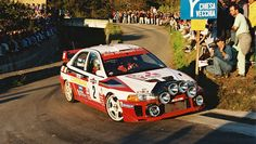 San Remo 1998  - Burns Richard - Reid RoberticonMitsubishi Carisma GT Evo V