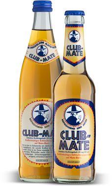 Wenn schon Mate, dann 'Club-Mate' (0,5 l, ca. € 1,50).