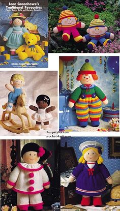Jean Greenhowes Traditional Favourites. 15% off most knitting and crochet patterns NOW! http://www.karpstyles.com