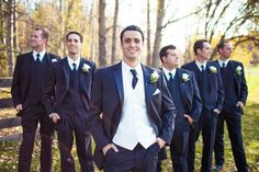 Groom with Groomsmen - PHOTO SOURCE • JUST FOR YOU PHOTOGRAPHY