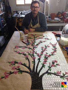 Owl Mosaic, Mosaic Tile Art, Mosaic Pots, Mirror Mosaic, Mosaic Diy, Mosaic Garden, Mosaic Crafts, Stone Mosaic, Mosaic Glass