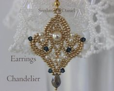 Instant Download Beading Tutorial Seed Beaded by BeadingPatterns4U