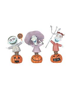 The Nightmare Before Christmas Lock Shock & Barrel Figurine Set,
