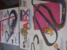 Vintage 1970's Aurora HO Slot Car AFX Racing Lot | eBay