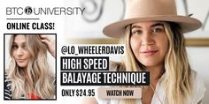 Are you too slow at balayage? Here are five tips to help you pick up the pace while mastering Lo Wheeler's high speed balayage technique. Sun Kissed Highlights, Partial Highlights, Blonde Highlights, Balayage Hair Tutorial, Balayage Technique, Blonde Balayage, Blonde Hair, Diy Hair Toner, Buttery Blonde