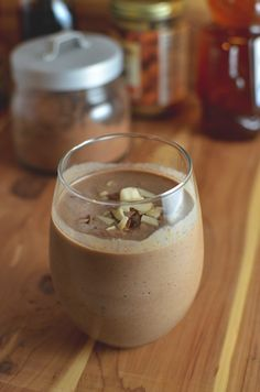 Healthy Chocolate Almond Smoothie